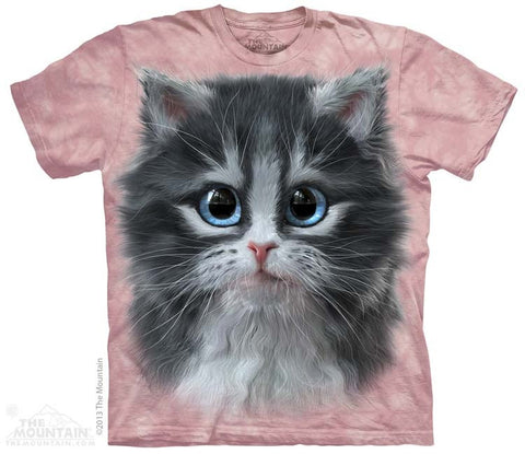 Pretty in Pink Kitten T-Shirt