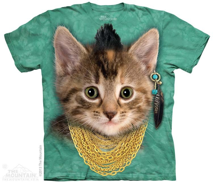 Bad Attitude Kitten T-Shirt