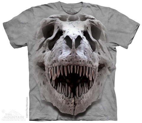 T-Rex Big Skull T-Shirt