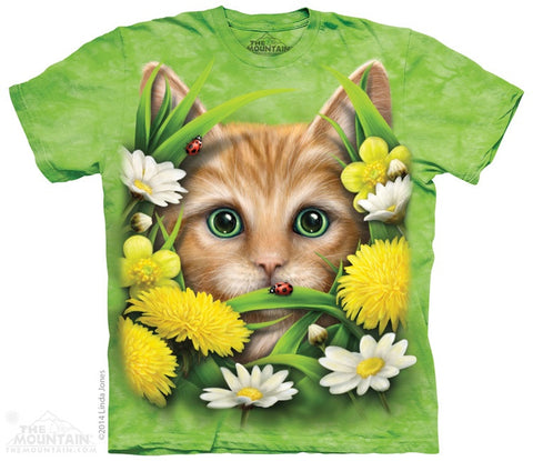 Kitten in Springtime T-Shirt