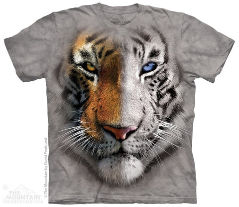Big Face Split Tiger T-Shirt