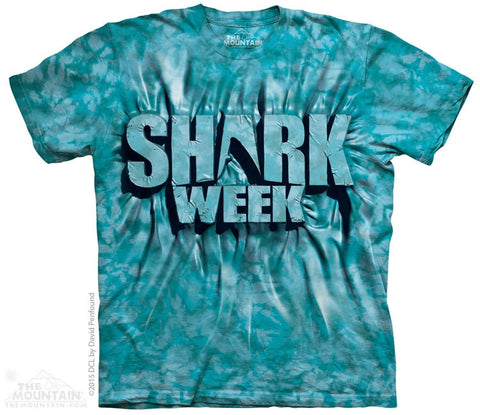 Aqua Shark Week T-Shirt