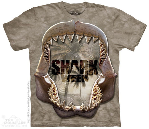 Shark Week Reflections Mono T-Shirt
