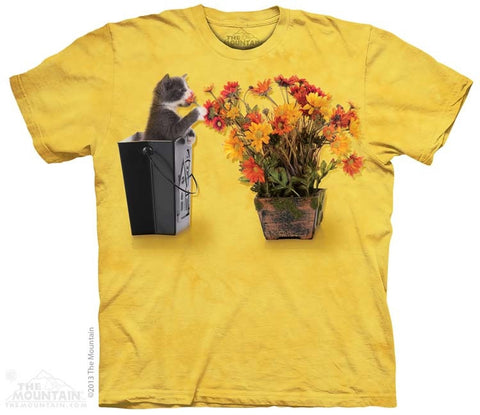 Flower Kitten T-Shirt