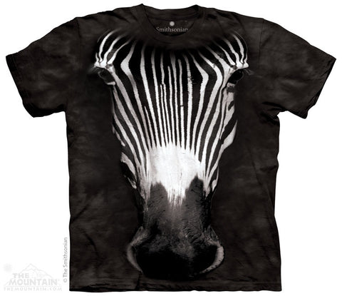 Big Face Grevy's Zebra T-Shirt