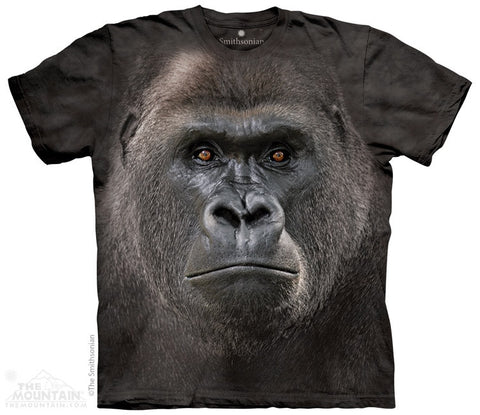 Big Face Lowland Gorilla T-Shirt