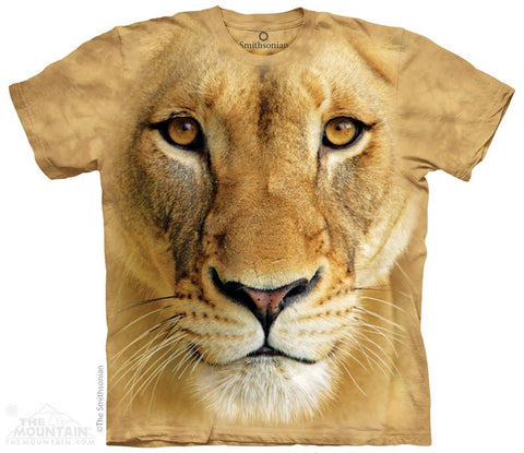 Big Face Lioness T-Shirt