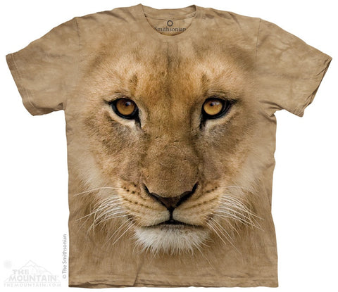 Big Face Lion Cub T-Shirt