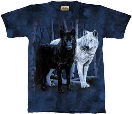 Black and White Wolves T-Shirt