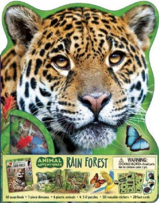 Animal Adventures: Rain Forest Book
