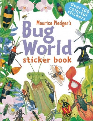 Bug World Sticker Book