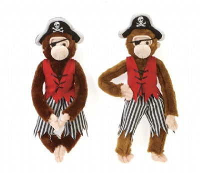 Plush Pirate Monkey