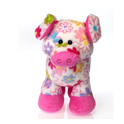 Pick Me: Plush Floral Pig (10-inch)