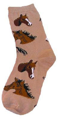 Horse Heads Socks
