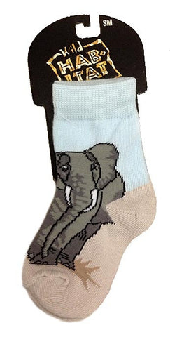 Elephant Herd Socks