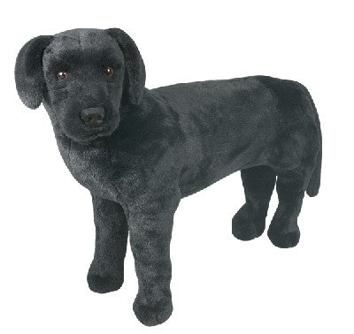 Jumbo Plush Black Lab