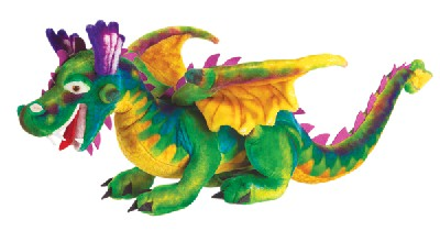 Jumbo Plush Dragon