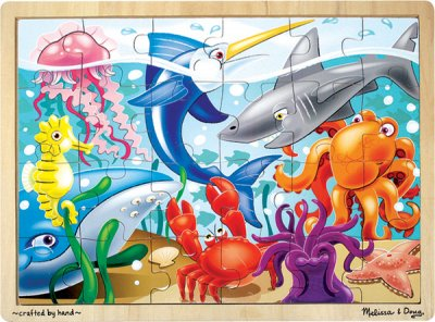 Wooden Jigsaw Puzzle: Under the Sea