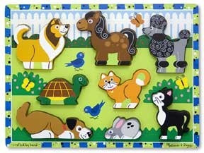 Chunky Puzzles: Pets