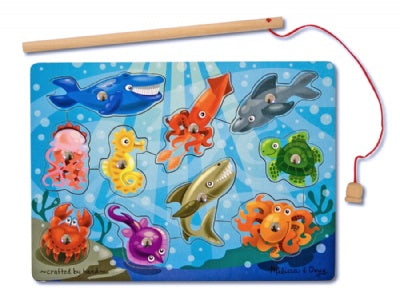 Magnetic Fishing Game Puzzle (10 pieces)