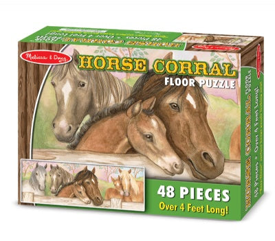 48 Piece Horse Corral Jigsaw Puzzle