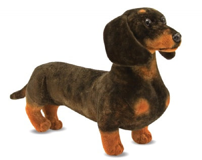 Jumbo Plush Dachshund Dog