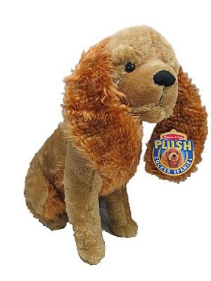 Jumbo Plush Cocker Spaniel Dog