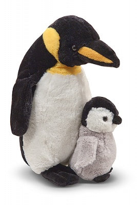 Webber Penguin with Baby Chick