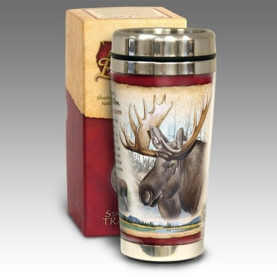Moose Stainless Steel Travel Mug
