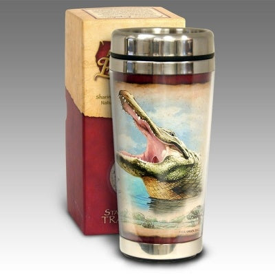 Alligator Stainless Steel Travel Mug