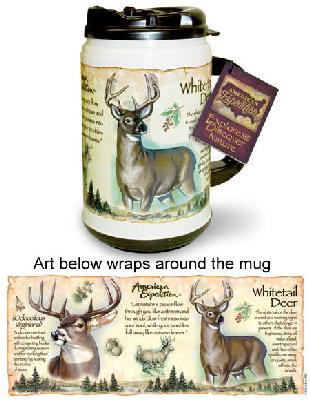 Whitetail Deer Thermal Mug