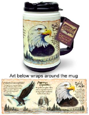 Bald Eagle Thermal Mug
