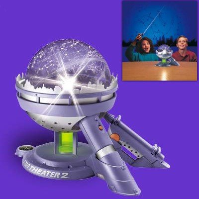 Star Theater 2 HOME PLANETARIUM with interactive Meteor Maker