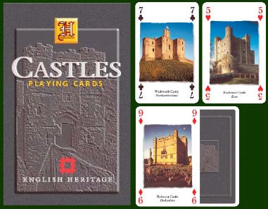 Castles Playing Cards
