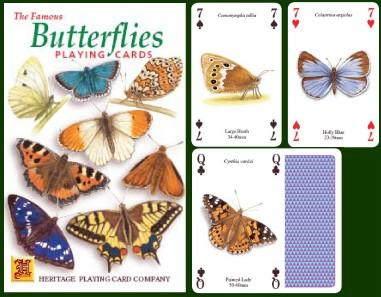 Butterflies Playing Cards