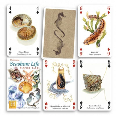 Seashore Life Playing Cards