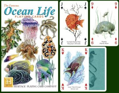 Ocean Life Playing Cards