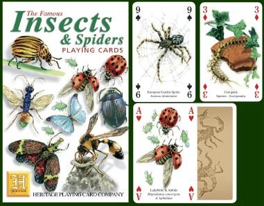 Insects & Spiders Playing Cards