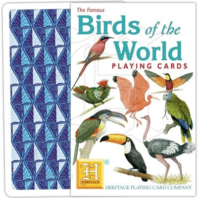Birds of the World Playing Cards