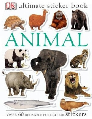 Ultimate Sticker Book: Animal