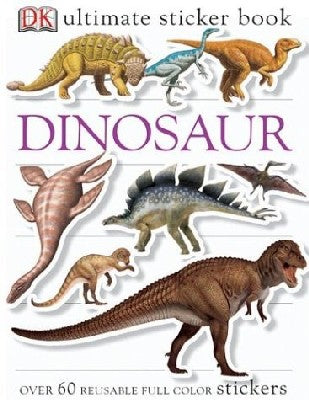 Ultimate Sticker Book: Dinosaurs