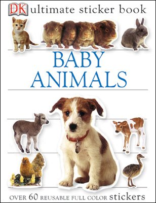 Ultimate Sticker Book: Baby Animals