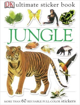 Ultimate Sticker Book: Jungle