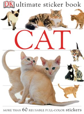 Ultimate Sticker Book: Cat