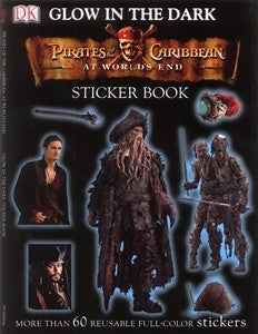 Glow in the Dark: Pirates of the Caribbean Sticker Books