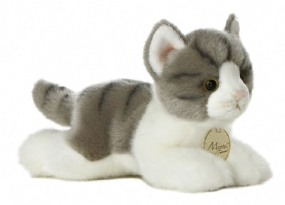 Grey Tabby Cat - Small (Miyoni)
