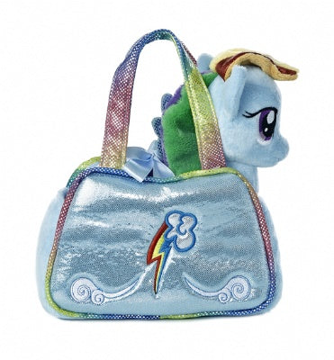 Rainbow Dash Cutie Mark Carrier Plush (My Little Pony)