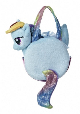 Rainbow Dash Pony Tail Carrier Plush (My Little Pony)