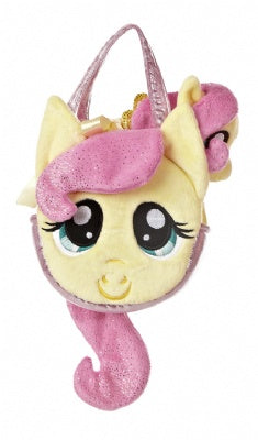 Fluttershy Pony Tail Carrier Plush (My Little Pony)