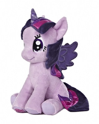 Princess Twilight Sparkle 10-inch Sitting Plush (My Little Pony)